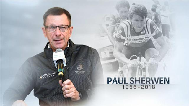 NBC Sports remembers cyclist and cycling analyst Paul Sherwen