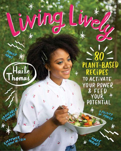 PHOTO: Haile Thomas,19, joins 'GMA' with two delicious plant-based recipes from her new cookbook, 'Living Lively.' (Courtesy of Alexsey Reyes)