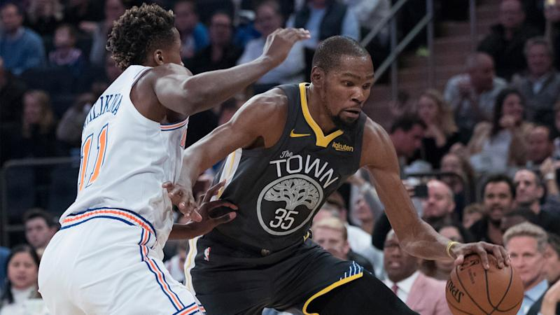 NBA rumors Rival exec believes Knicks have been told Kevin Durant is coming