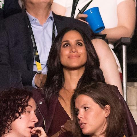 Meghan Markle was in the crowd for the opening ceremony of the Invictus Games last week - Credit: Warren Toda/EPA