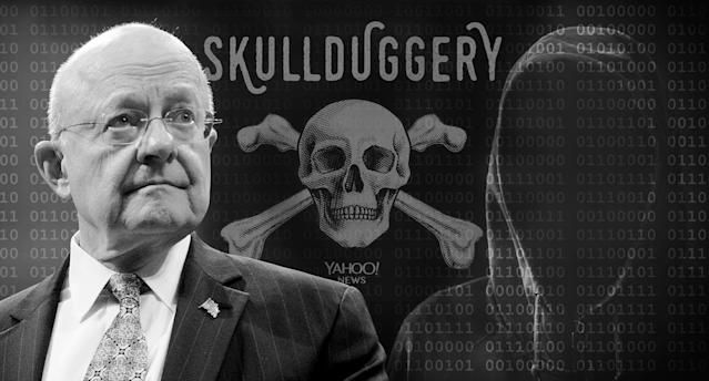 James Clapper (Photo illustration: Yahoo News; photos: Andrew Harnik/AP, Getty Images)