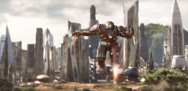 Iron Man in his Hulkbuster suit. (Photo: Marvel Studios)