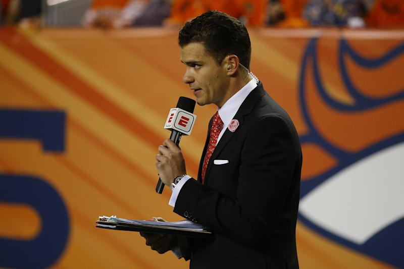 NFL Sideline Reporter Sergio Dipp Endeared Millions During Monday Night Football. Here's Why.