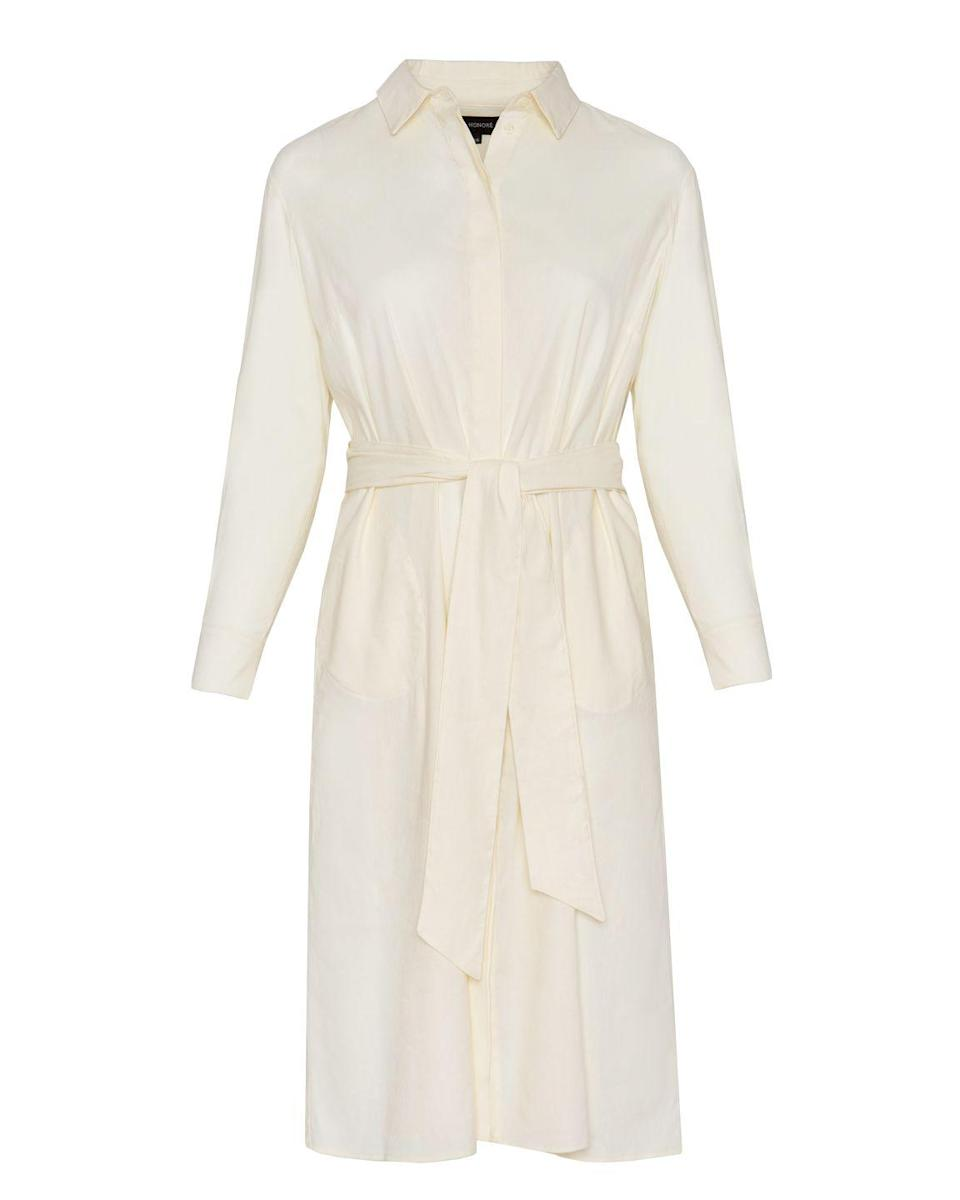 """<p>Another reason to love 11 Honoré, a company dedicated to serving luxe style in sizes 12 to 26: The site now has its own private label collection, with elevated and understated everyday pieces like this stretchy linen shirtdress.<em><br><br>11 Honoré</em>, $568<br></p><p><a class=""""link rapid-noclick-resp"""" href=""""https://go.redirectingat.com?id=74968X1596630&url=https%3A%2F%2F11honore.com%2Fcollections%2Fplus-size-dresses%2Fproducts%2Fchrissy-shirt-dress&sref=https%3A%2F%2Fwww.oprahmag.com%2Fstyle%2Fg34211647%2Ffall-2020-fashion-adam-glassman%2F"""" rel=""""nofollow noopener"""" target=""""_blank"""" data-ylk=""""slk:SHOP NOW"""">SHOP NOW</a></p>"""