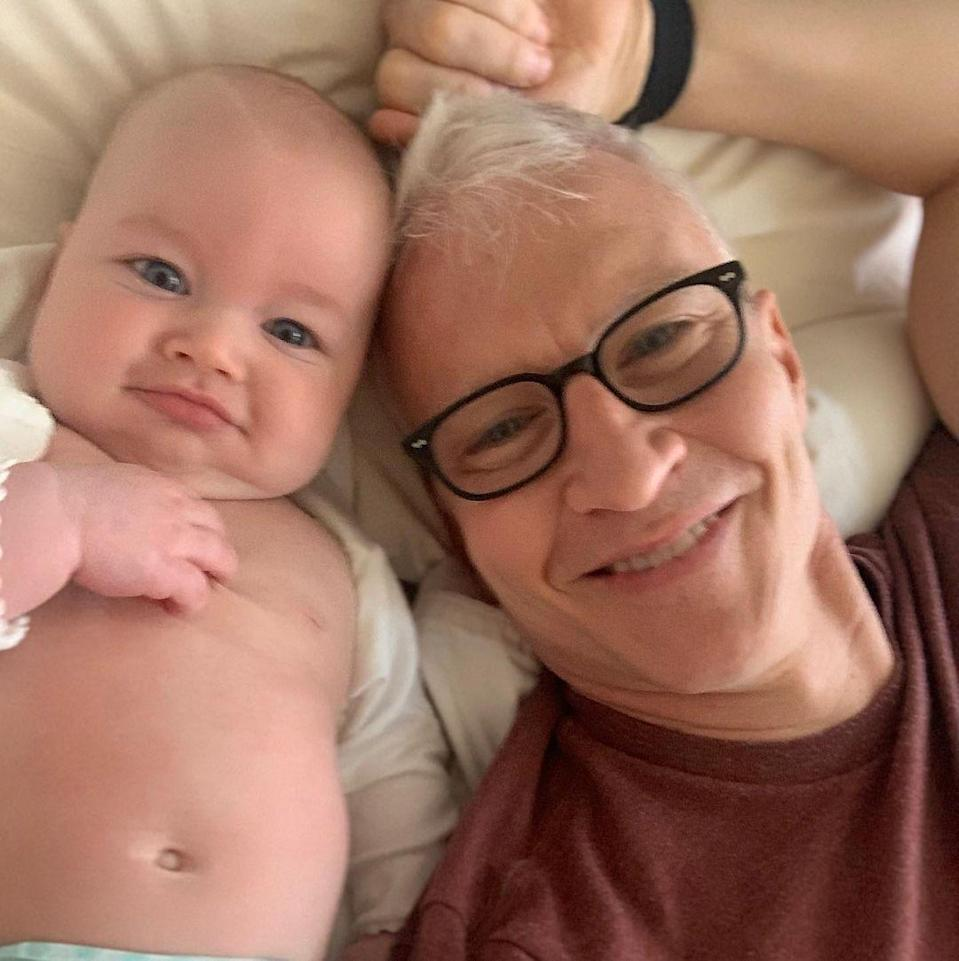 "<p>If Elon Musk and Grimes' son gets a superlative for Most Unique Name, Anderson Cooper's son Wyatt (born April 27) gets one for cuteness...oh wait, <em>People</em> beat us to it. <a href=""https://twitter.com/people/status/1329499474998292486"" rel=""nofollow noopener"" target=""_blank"" data-ylk=""slk:The magazine named Wyatt the &quot;Cutest Baby Alive,&quot;"" class=""link rapid-noclick-resp"">The magazine named Wyatt the ""Cutest Baby Alive,""</a> and yeah, that tracks. </p>"