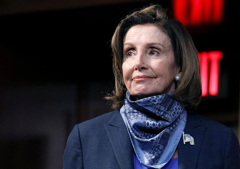 U.S. House Speaker Nancy Pelosi, who has been attacked by Donald Trump over a Chinatown visit: REUTERS
