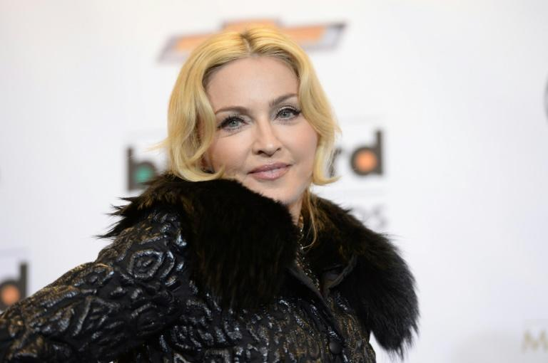 US superstar Madonna posted an image on Instagram showing a vast forest on fire that dates back to 1989