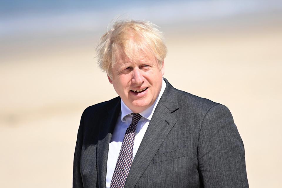 Boris Johnson launched a £500m Blue Planet Fund - but was accused of 'reheated soundbites' (Getty)