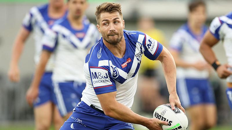 Pictured here, Kieran Foran is firming to make a sensational return to Manly.