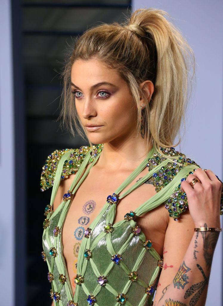 Paris Jackson is very proud of her skin tone and mixed heritage. (Photo: Getty Images)