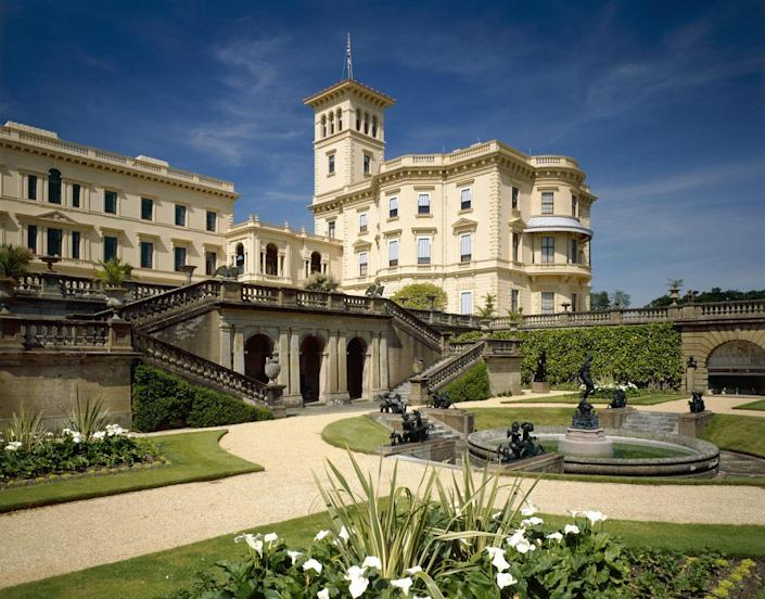 <p>The former summer home of Queen Victoria and Prince Albert was inspired by the Italian Renaissance estates the prince had seen during his tours of Italy. </p><p>While the Isle of Wight retreat is no longer used as a residence by the royal family, its interiors still are filled with ornate furniture and fine artworks treasured by the couple. The lush gardens, as well, are laid out in a similar manner as they were during the 19th-century, with blooming myrtle and magnolias. </p>