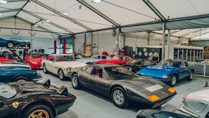 The workshop at GTO Engineering. - Credit: Photo: Courtesy of GTO Engineering.
