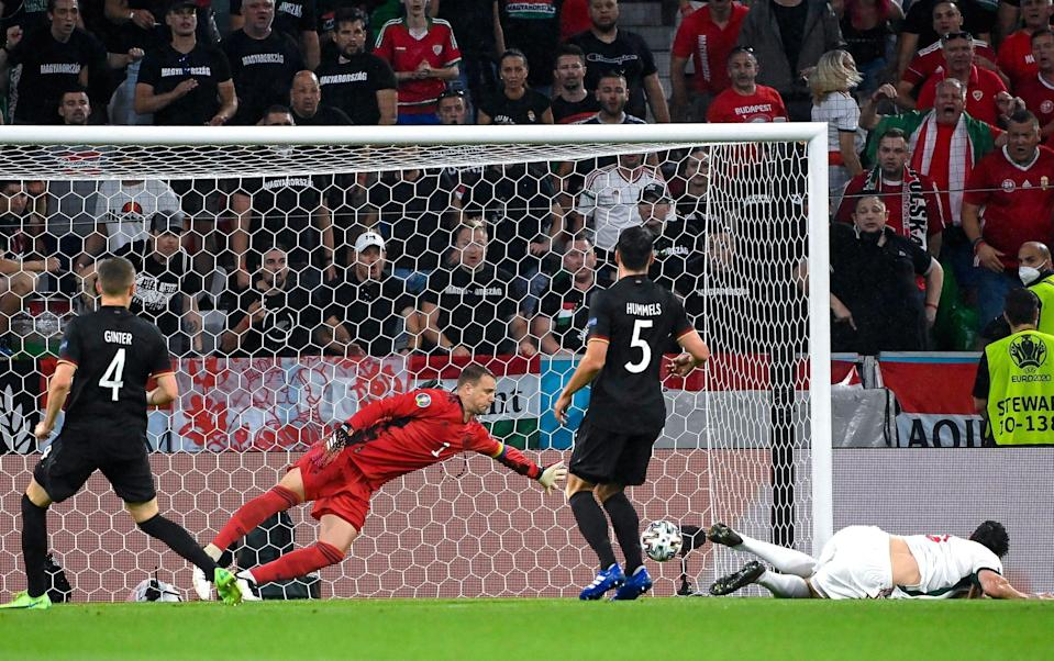 Adam Szalai nods Hungary into an unexpected lead against Germany - SHUTTERSTOCK