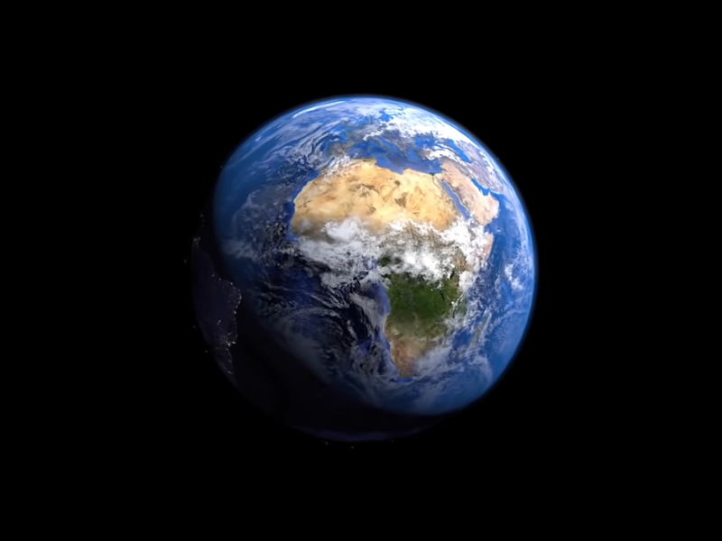 The creator of the Minecraft project to recreate Earth in the game hopes to finish it in his lifetime: CC