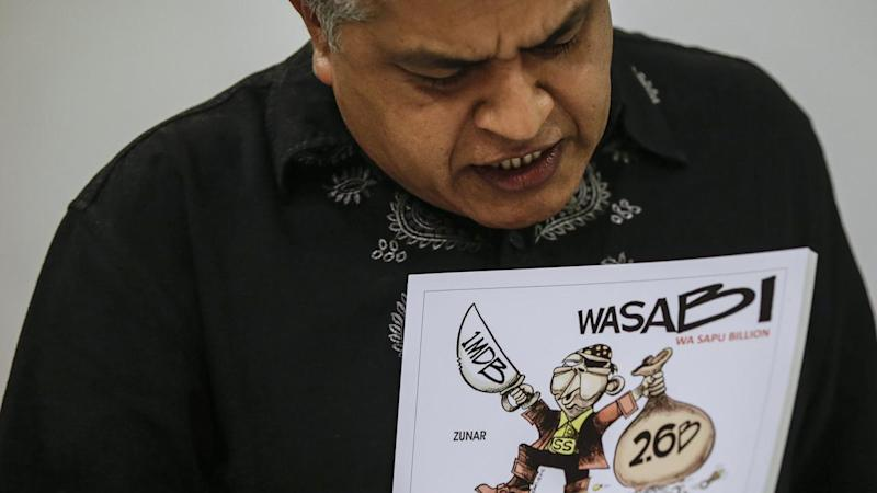 Malaysian political cartoonist arrested
