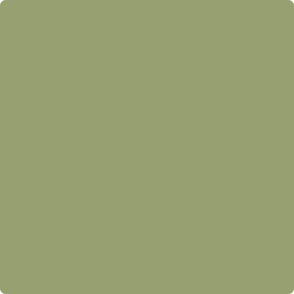 """<p><strong>Benjamin Moore</strong></p><p>benjaminmoore.com</p><p><a href=""""https://www.benjaminmoore.com/en-us/color-overview/find-your-color/color/488/mountain-lane?color=488&source=%2Fen-us%2Fcolor-overview%2Ffind-your-color%2Fcolor%2F503%2Ffraser-fir"""" rel=""""nofollow noopener"""" target=""""_blank"""" data-ylk=""""slk:Shop Now"""" class=""""link rapid-noclick-resp"""">Shop Now</a></p><p>Mountain Lane by Benjamin Moore is a timeless green paint color that pairs beautifully with dark slate or black marble countertops. </p>"""
