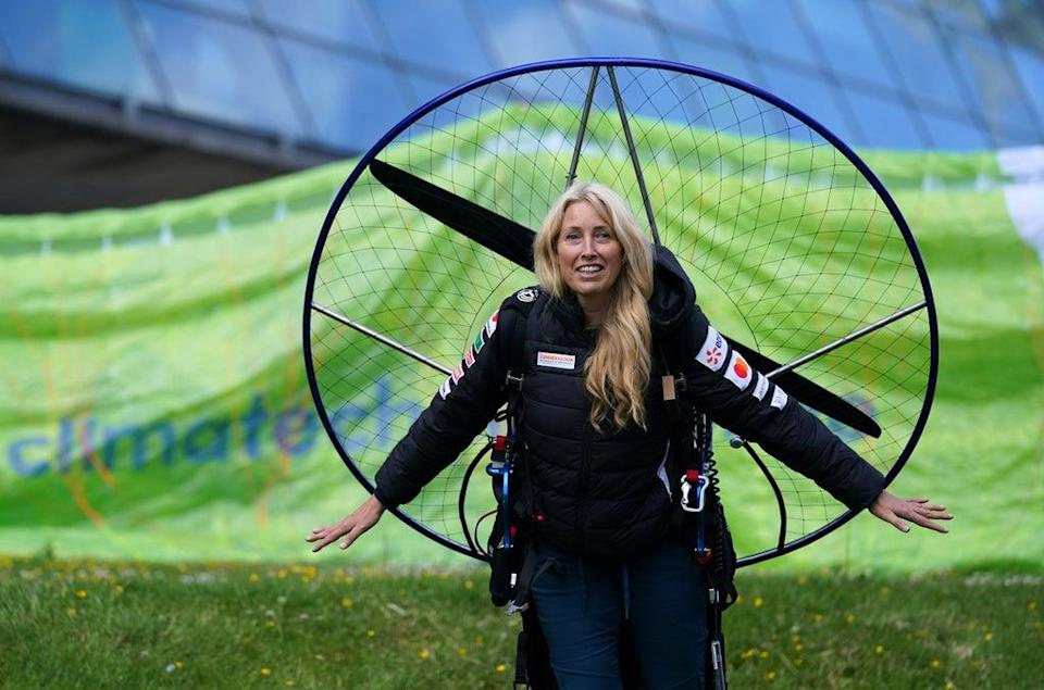 Paramotorist Sacha Dench was seriously injured in the accident (Andrew Milligan/PA) (PA Wire)