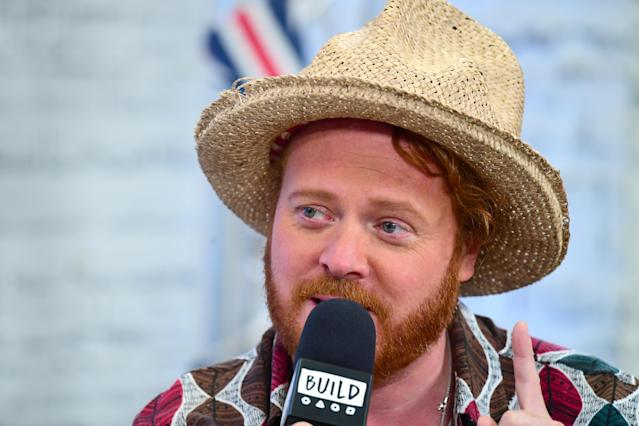 Keith Lemon was feeling unwell before the 'Celebrity Juice' audience were sent home. (Getty Images)