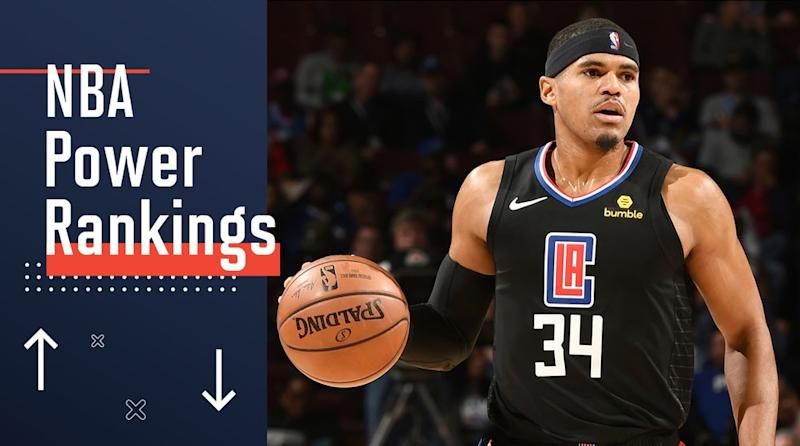 best website 914ec 4fcf9 NBA Power Rankings  The Starless Clippers Continue to Shine Against ...
