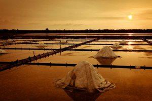 井仔腳鹽田晚霞|Jingzijiao Salt Fields(Courtesy of Tainan Travel)