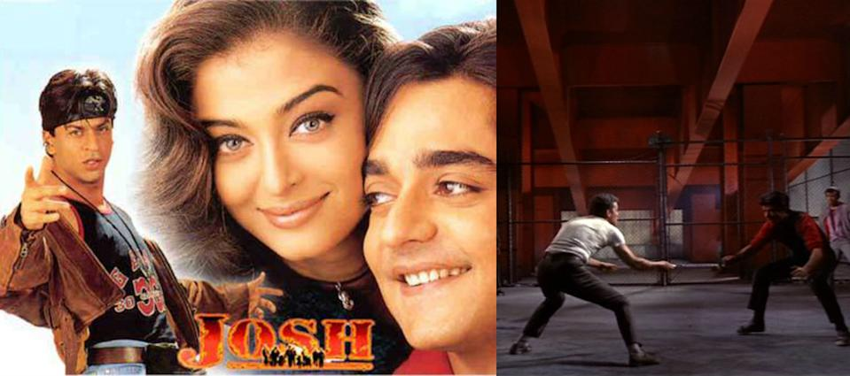 The Hollywood romantic drama was a musical inspired by Shakespeare's Romeo and Juliet. It's about two youngsters from rival New York City gangs fall in love, but tensions between their respective friends build toward tragedy. In the Bollywood movie, the rival gangs were Eagle and Bitchoo, with Shahrukh Khan, Aishwarya Rai and Chandrachur Singh in the lead. <br>