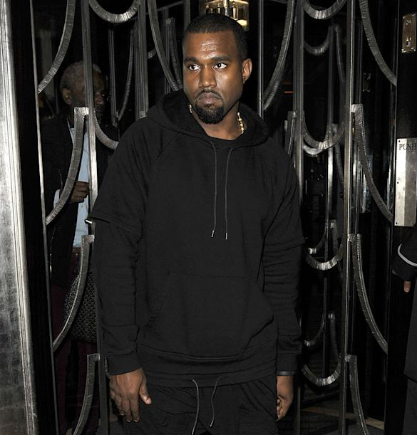 Kanye West Takes A Night Off From Kim Kardashian To 'Bond' With Will Smith Over Dinner