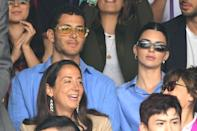 """<p>Kendall and Fai's friendship entered the spotlight late last year, when the pair made several high-profile outings together. When they attended Justin and Hailey Bieber's wedding together, Halloween photos from 2018 resurfaced. And in November Kendall <a href=""""https://www.elle.com/culture/celebrities/a29948523/kendall-jenner-fai-khadra-family-instagram-reaction/"""" rel=""""nofollow noopener"""" target=""""_blank"""" data-ylk=""""slk:joked about starting a family with Fai"""" class=""""link rapid-noclick-resp"""">joked about starting a family with Fai</a> on Instagram. The two are strictly good friends in reality, though.</p>"""