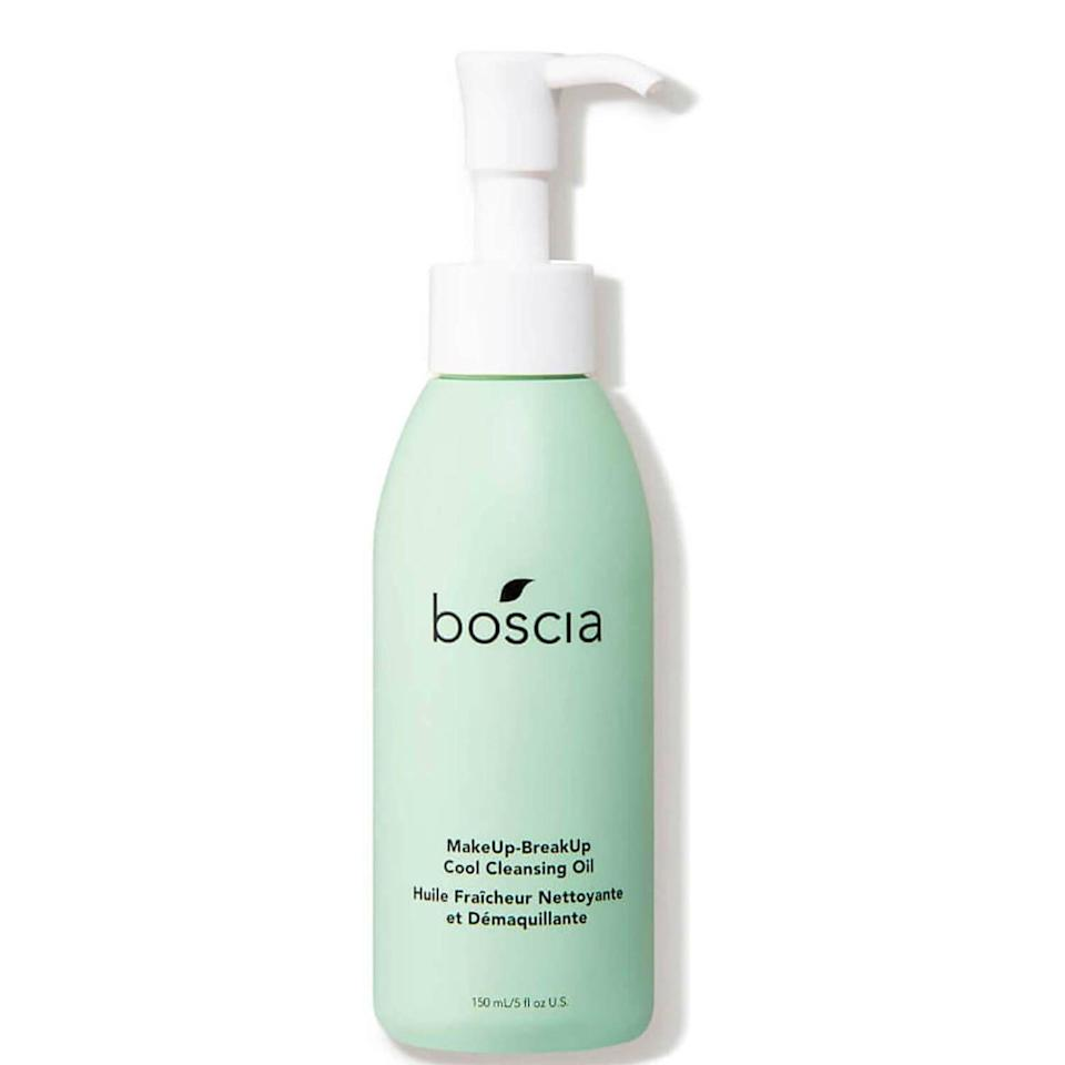 """<p><strong>Boscia</strong></p><p>dermstore.com</p><p><strong>$32.00</strong></p><p><a href=""""https://go.redirectingat.com?id=74968X1596630&url=https%3A%2F%2Fwww.dermstore.com%2Fboscia-makeup-breakup-cool-cleansing-oil-5-fl.-oz.%2F12902166.html&sref=https%3A%2F%2Fwww.harpersbazaar.com%2Fbeauty%2Fskin-care%2Fg37060038%2Fbest-korean-skin-care-products%2F"""" rel=""""nofollow noopener"""" target=""""_blank"""" data-ylk=""""slk:Shop Now"""" class=""""link rapid-noclick-resp"""">Shop Now</a></p><p>The double cleanse—that is, using an oil-based formula followed by a water-based formula—is a Korean beauty mainstay. This oil cleanser gently removes makeup as it moisturizes with ingredients like jojoba leaf and willowherb.</p>"""