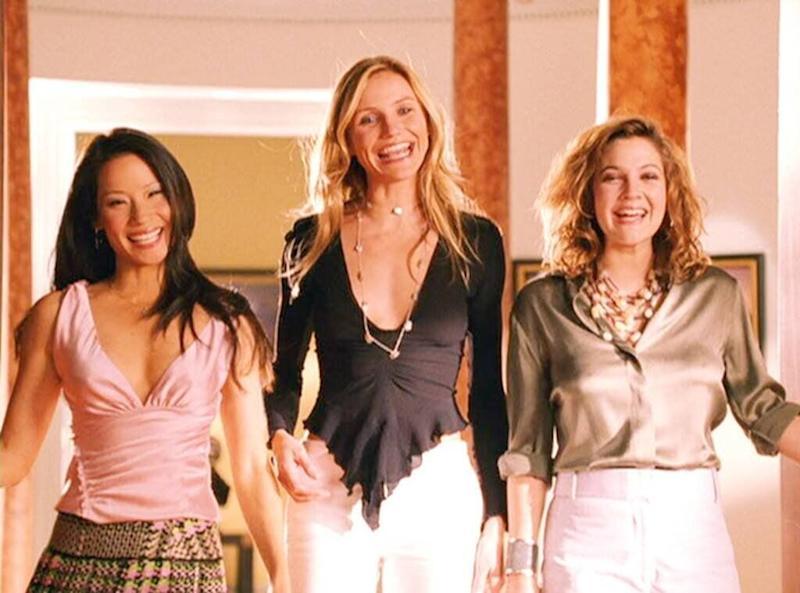 Cameron starred in Charlie's Angels alongside Lucy Liu and Drew Barrymore (Photo: Sony Pictures)