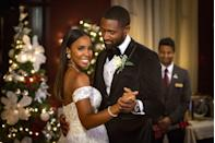 <p><strong>Saturday, November 28 at 8 p.m.</strong></p><p>First comes love, then comes a marriage! Jacquie (played by <strong>Kelly Rowland</strong>) and Tyler (played by <strong>Thomas Cadrot</strong>) face the unexpected as they plan their dream wedding — and their family is to blame. But in the end, they celebrate their love with a special day even better than they could have imagined. </p>