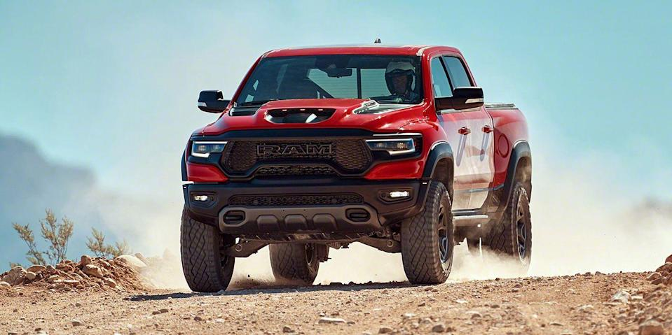 Everything We Know About the 2021 Ram 1500 TRX