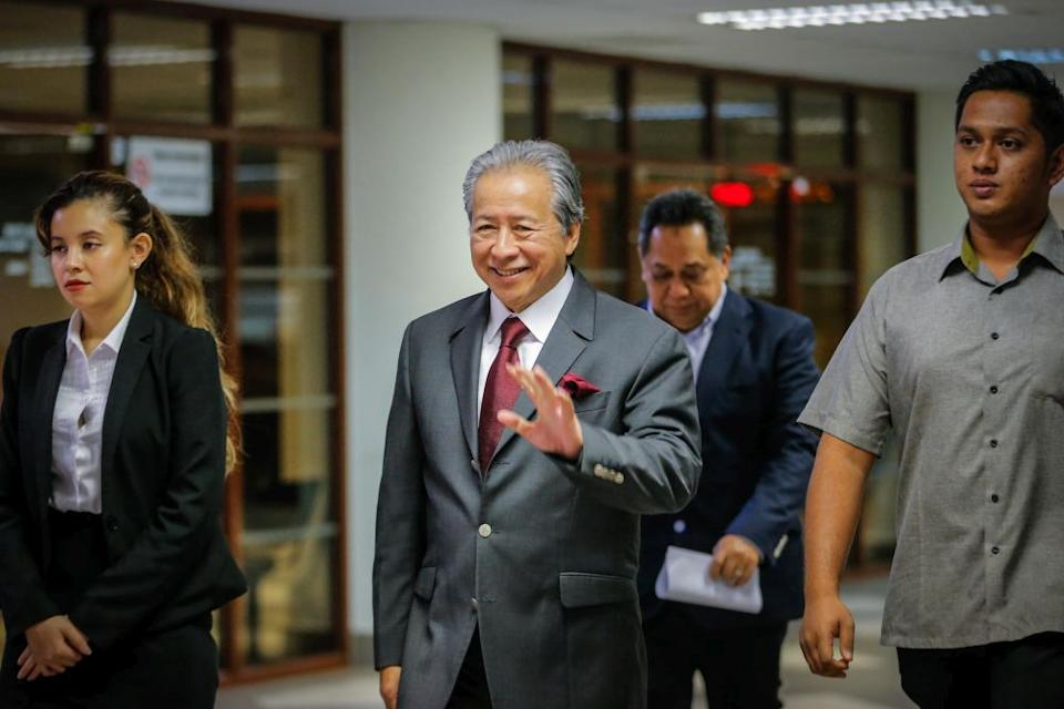 There is also a question of whether Datuk Seri Anifah Aman will join this Umno-Bersatu-PRS-PBRS-STAR pact with his party, Parti Cinta Sabah (PCS). ― Picture by Hari Anggara