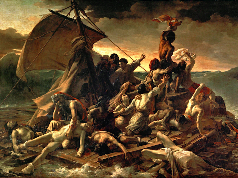 'The Raft of the Medusa,' Théodore Géricault