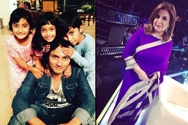 Bollywood celeb kids, Farah Khan and Shirish Kunder