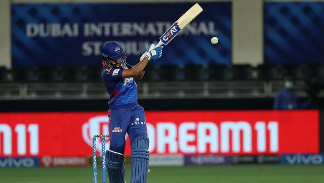 Chasing the total, DC got off to a solid start with both openers Prithvi Shaw and Shikhar Dhawan looking good. However, Shaw got out for 11 in the third over. Dhawan carried on stroke making and scored 42 off 37 balls to set the tone in the chase. He got out but Shreyas Iyer, playing his first game since his shoulder injury, played as if he had never left the ground. He stroked 47 off 41 balls to take DC to the winning mark. His innings included cuts, cover drives, pulls among other shot. He hit two sixes and two fours respectively, anchoring the innings pretty well. Sportzpics.