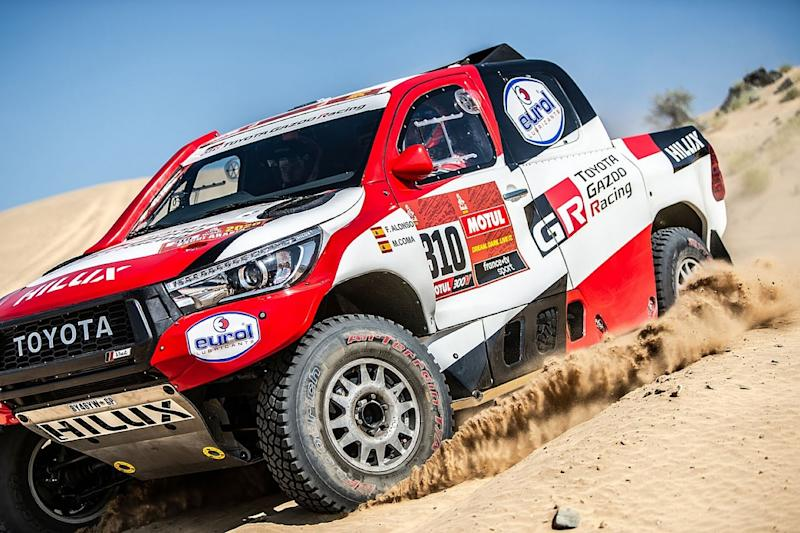 Alonso drove first Dakar stage