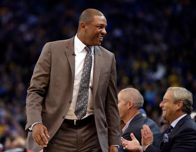 A stranger saved Doc Rivers around $2,000 on Monday and didn't stick around to be rewarded. (AP)