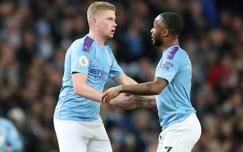 <span>De Bruyne says he adapts his game depending on who he is creating for</span> <span>Credit: rex features </span>