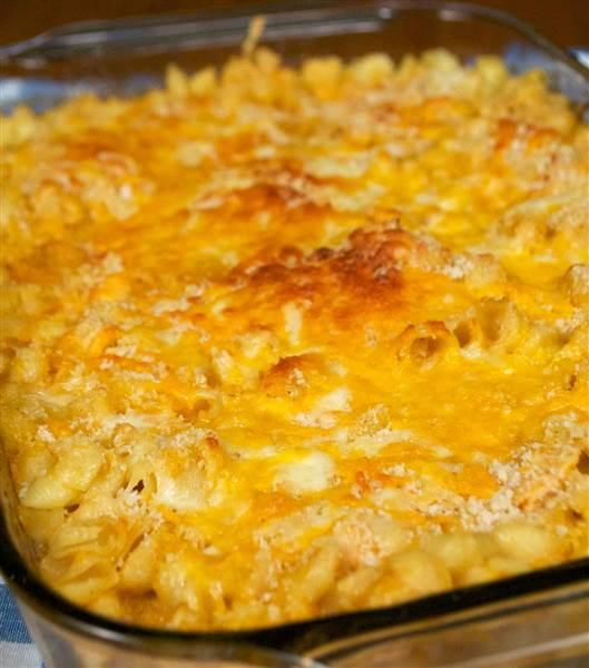 Buffalo chicken mac and cheese from Top Notch Mom (Top Notch Mom)