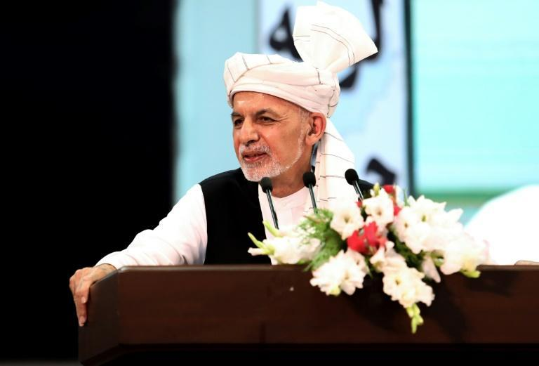 The Taliban have refused to recognise the government of President Ashraf Ghani (pictured)
