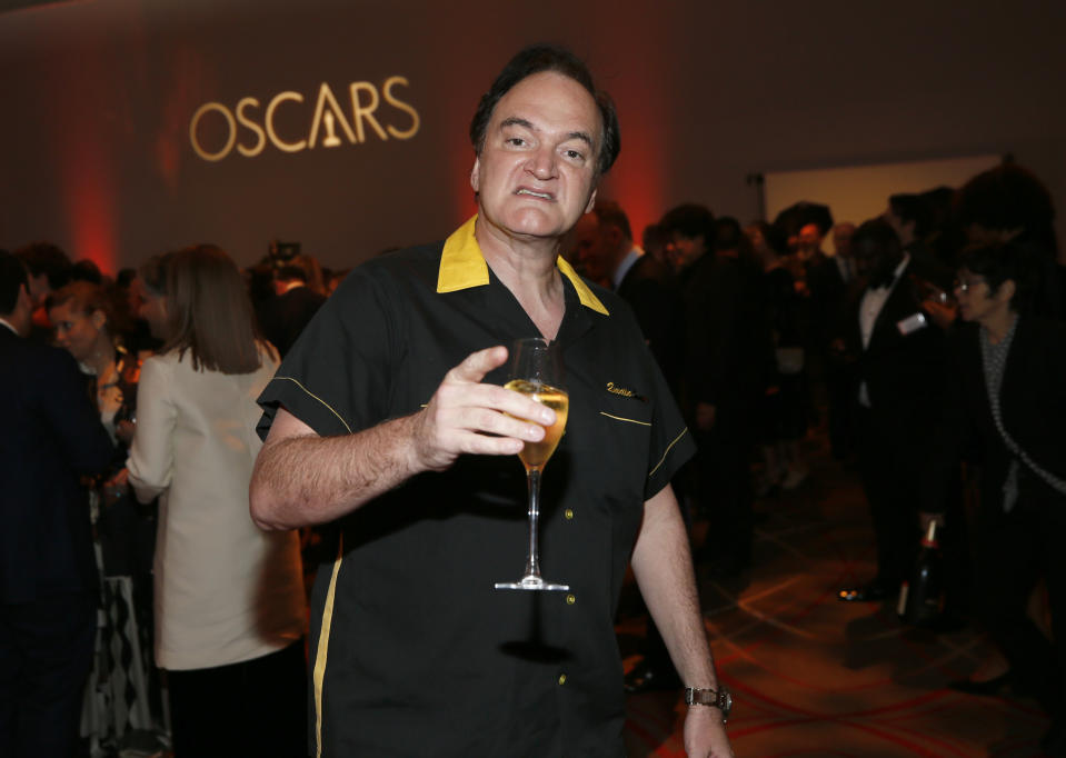Quentin Tarantino attends the 92nd Academy Awards Nominees Luncheon at the Loews Hotel on Monday, Jan. 27, 2020, in Los Angeles. (Photo by Danny Moloshok/Invision/AP)