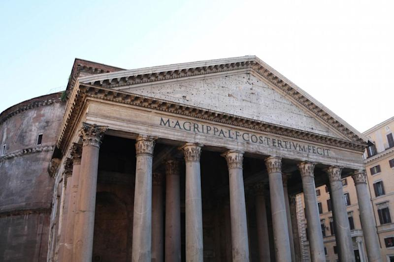 The Pantheon is one of the most recognised buildings in Rome. Source: Holly O'Sullivan