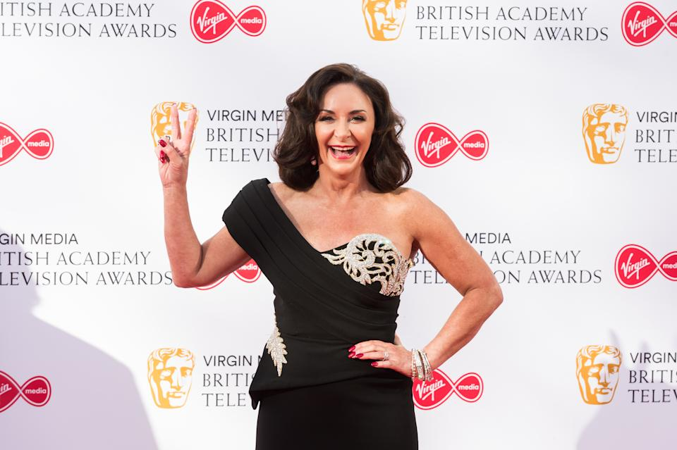 Shirley Ballas attends the Virgin Media British Academy Television Awards ceremony at the Royal Festival Hall on 12 May, 2019 in London, England. (Photo by WIktor Szymanowicz/NurPhoto via Getty Images)
