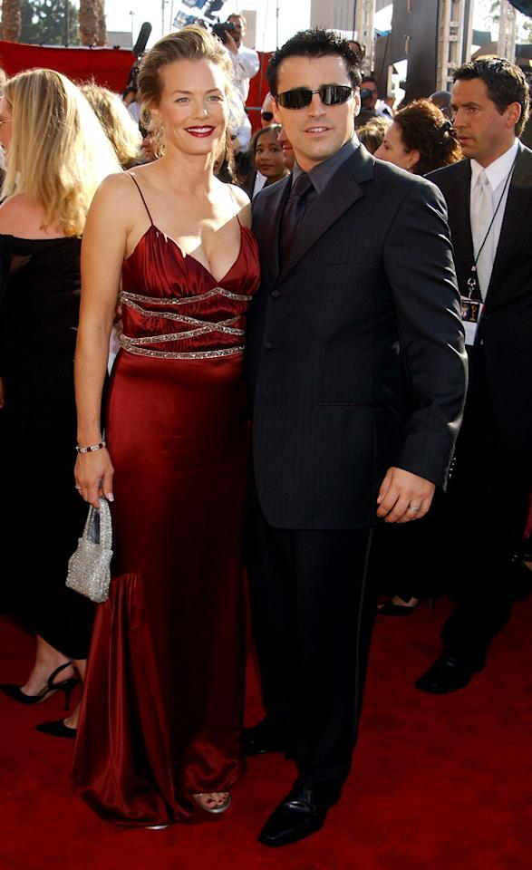 Matt LeBlanc and Wife Melissa at the 55th Annual Primetime Emmy Awards in Los Angeles, California on September 21, 2003.