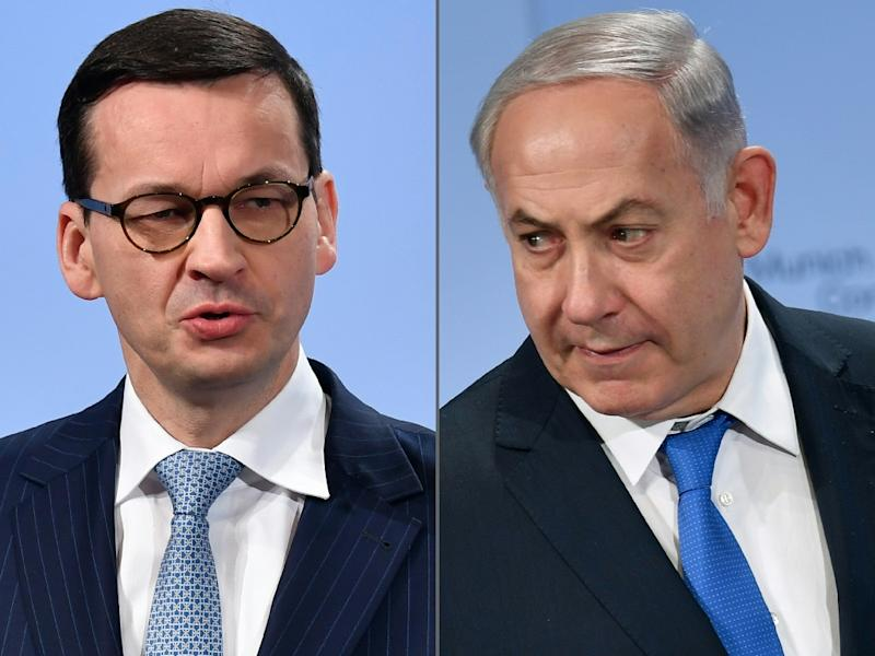 Polish Prime Minister Mateusz Morawiecki and his Israeli counterpart Benjamin Netanyahu have argued about the Holocaust before