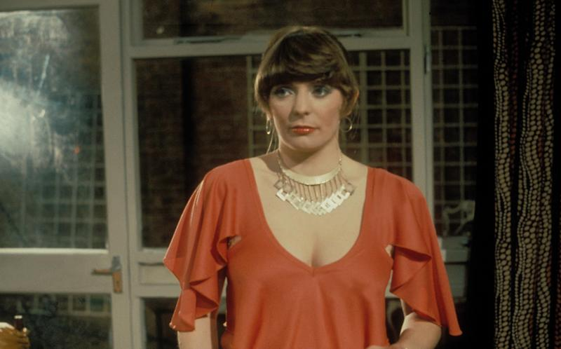 Steadman rose to fame after playing the monstrous Beverly in Mike Leigh's 'Abigail's Party' in 1977Rex Features