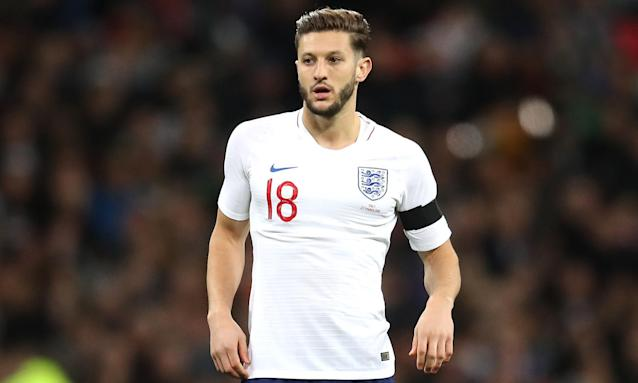 Adam Lallana missed out on going to the World Cup after his injury-plagued 2017-18 season and will not return this week.