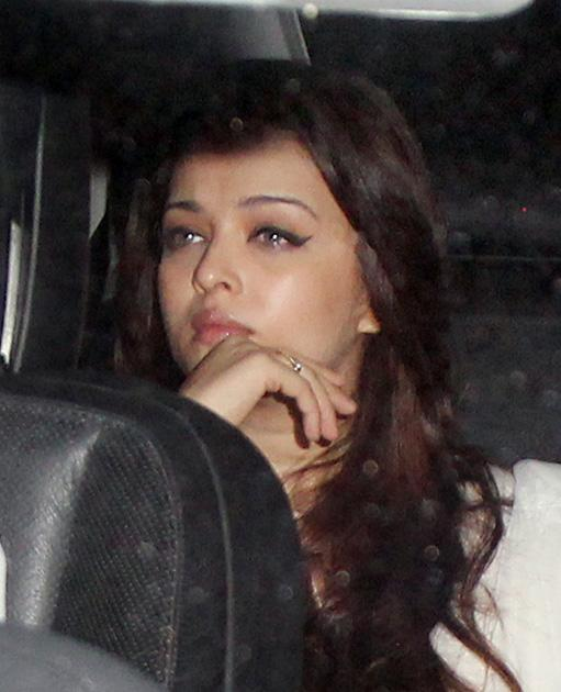 Aishwarya Rai arrives for the ceremony