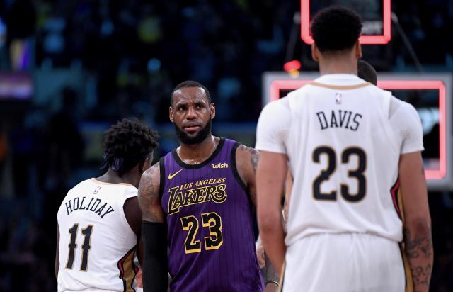 LeBron James' Los Angeles Lakers missed their best shot at Anthony Davis as the value of their core came into question. Now what? (Getty)