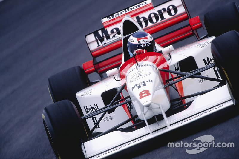 "1995: McLaren-Mercedes MP4/10<span class=""copyright"">LAT Images</span>"